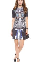 Clover Canyon Accordion Dance Dress - Lyst