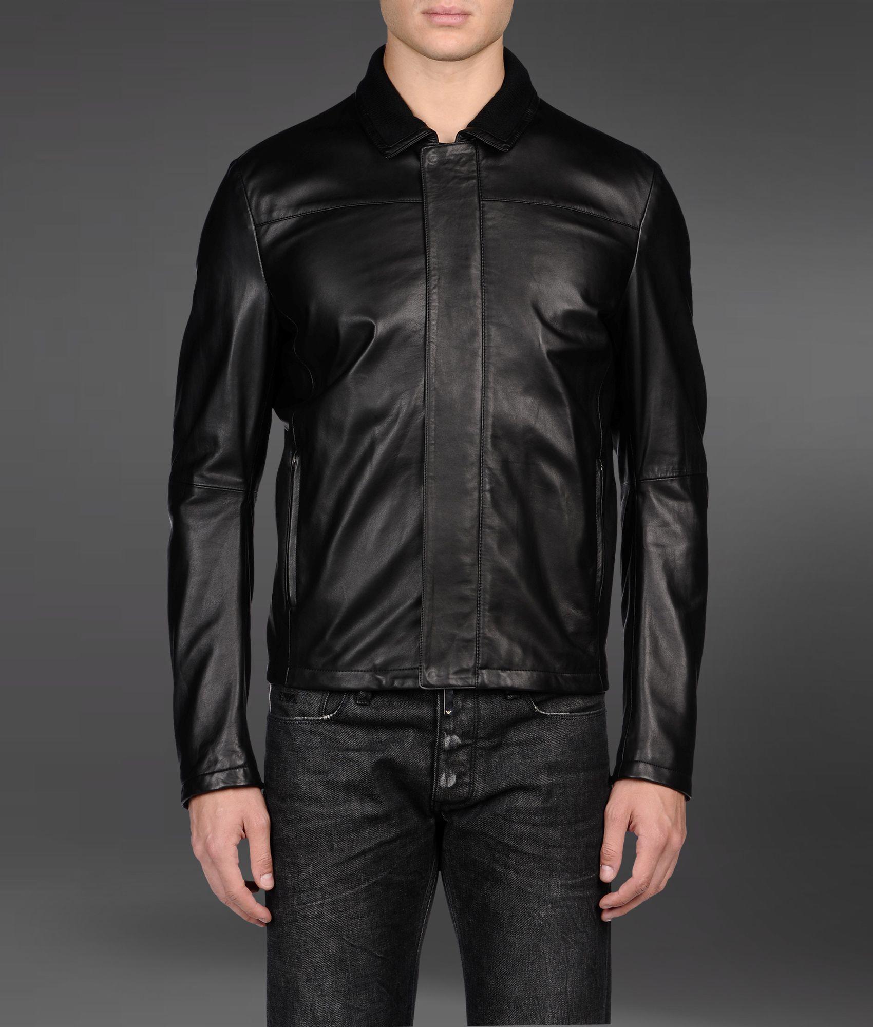 Emporio leather jackets