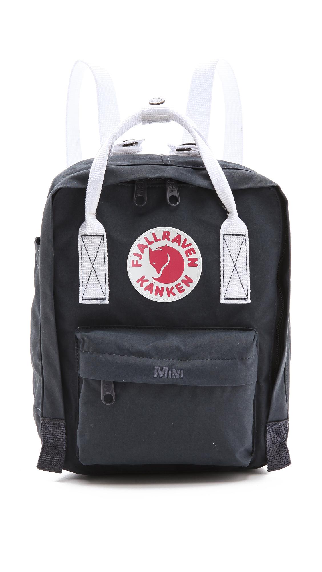 fjallraven kanken mini backpack ox red royal blue in. Black Bedroom Furniture Sets. Home Design Ideas