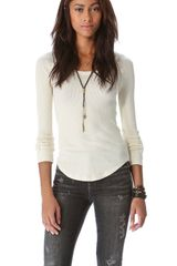 Free People Synergy Cuff Top - Lyst