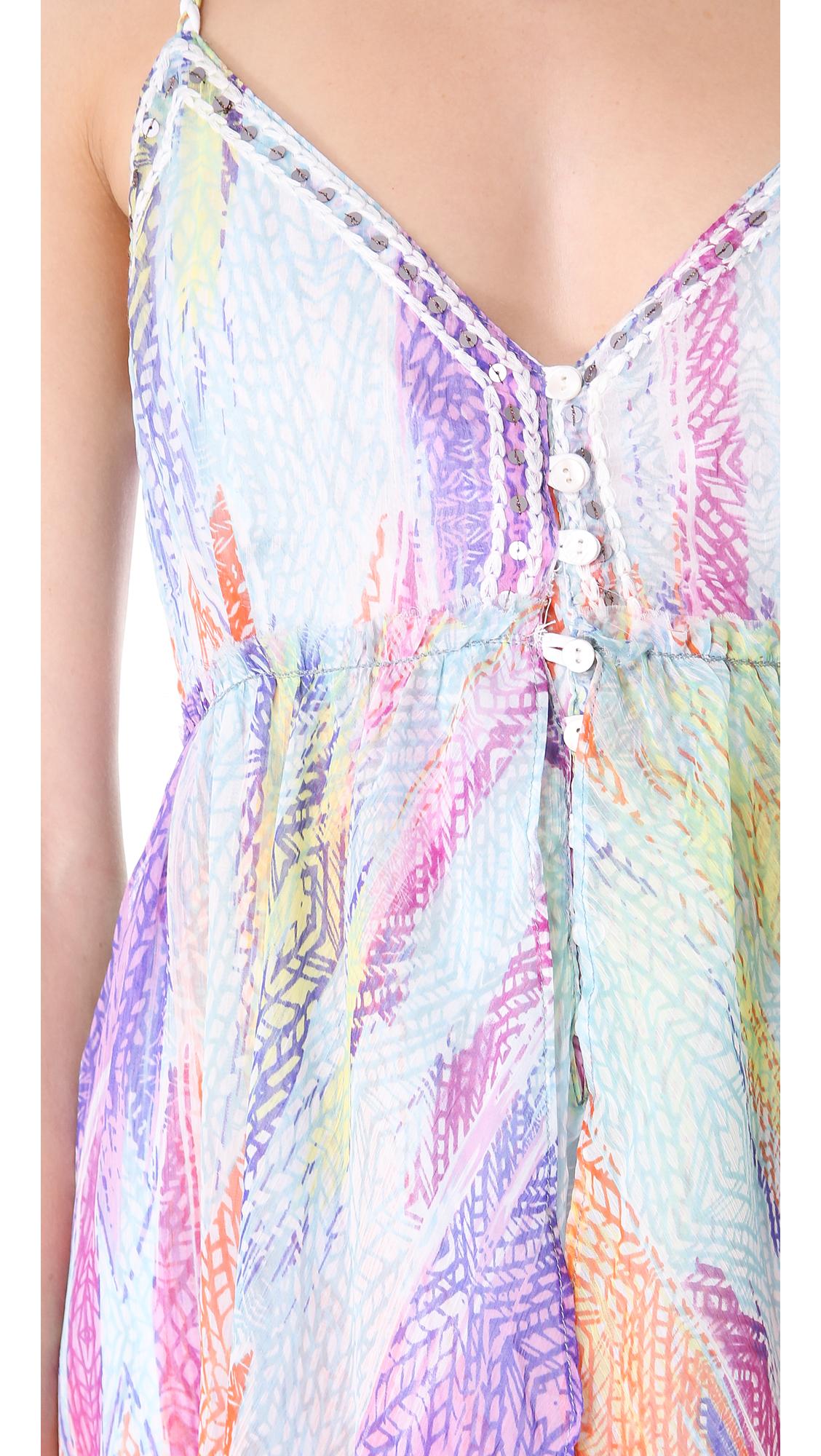 Lyst Free People Sea Gypsy Dress In Purple