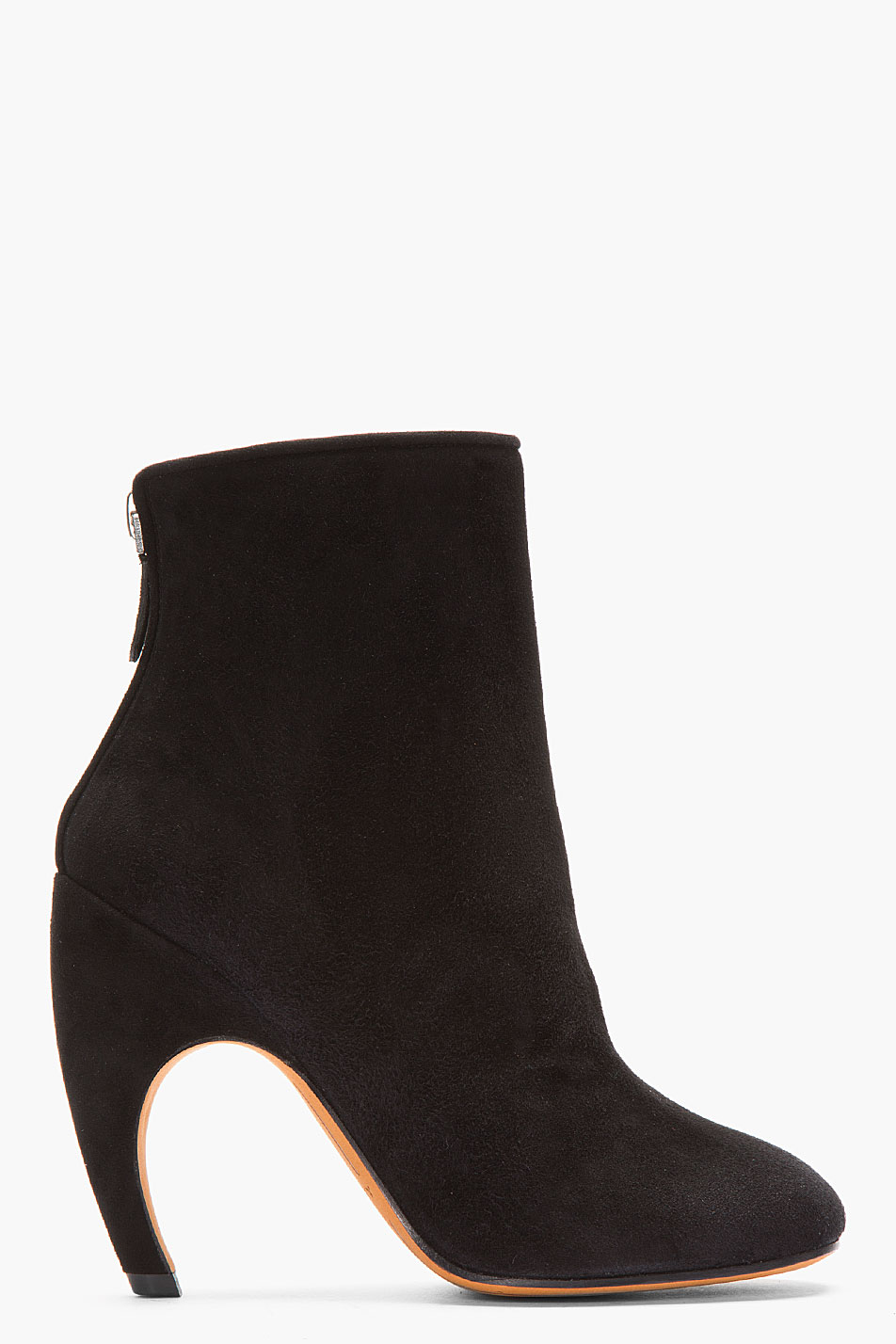 givenchy black suede boots in black lyst