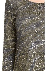 Haute Hippie Caviar Sequin Dress - Lyst