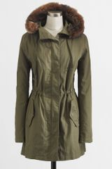 J.Crew Factory Hooded Parka - Lyst
