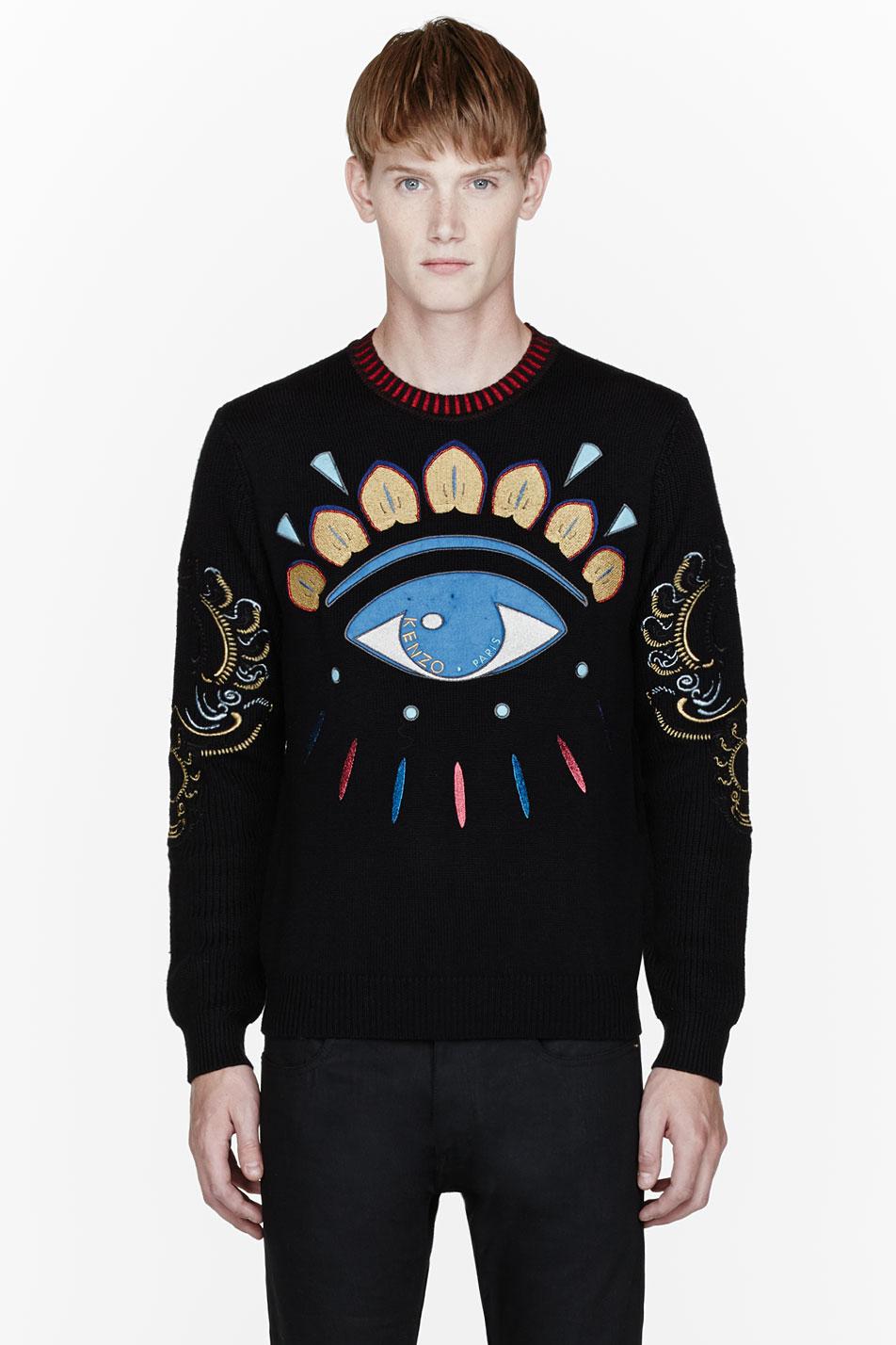Blue Crewneck Sweater