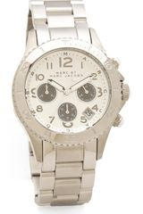 Marc By Marc Jacobs Rock Chronograph Watch - Lyst
