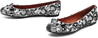 Marc By Marc Jacobs Studded Lace Mouse Flats - Lyst