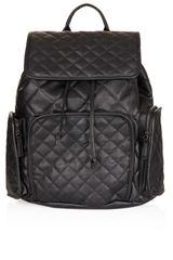 Topshop Quilted Backpack - Lyst
