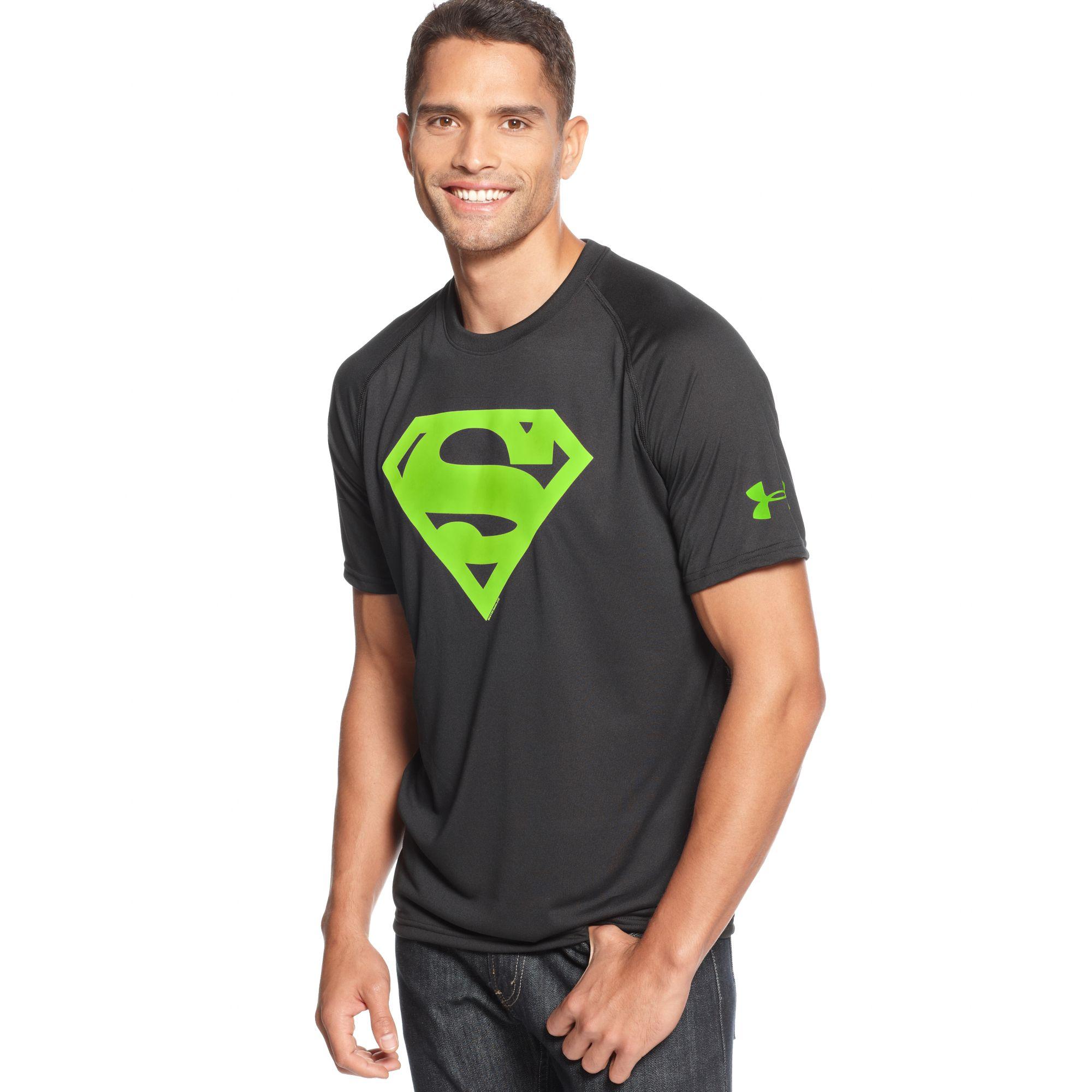 Men S Under Armour Alter Ego Superman T Shirt