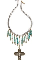 Vanessa Mooney So Far Away Necklace - Lyst