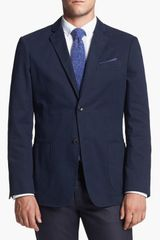 Wallin & Bros. Trim Fit Cotton Blazer - Lyst