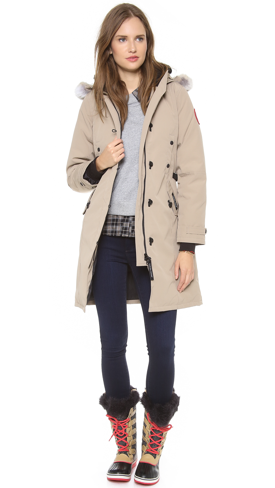 Gallery. Previously sold at: Shopbop · Women's Canada Goose Kensington