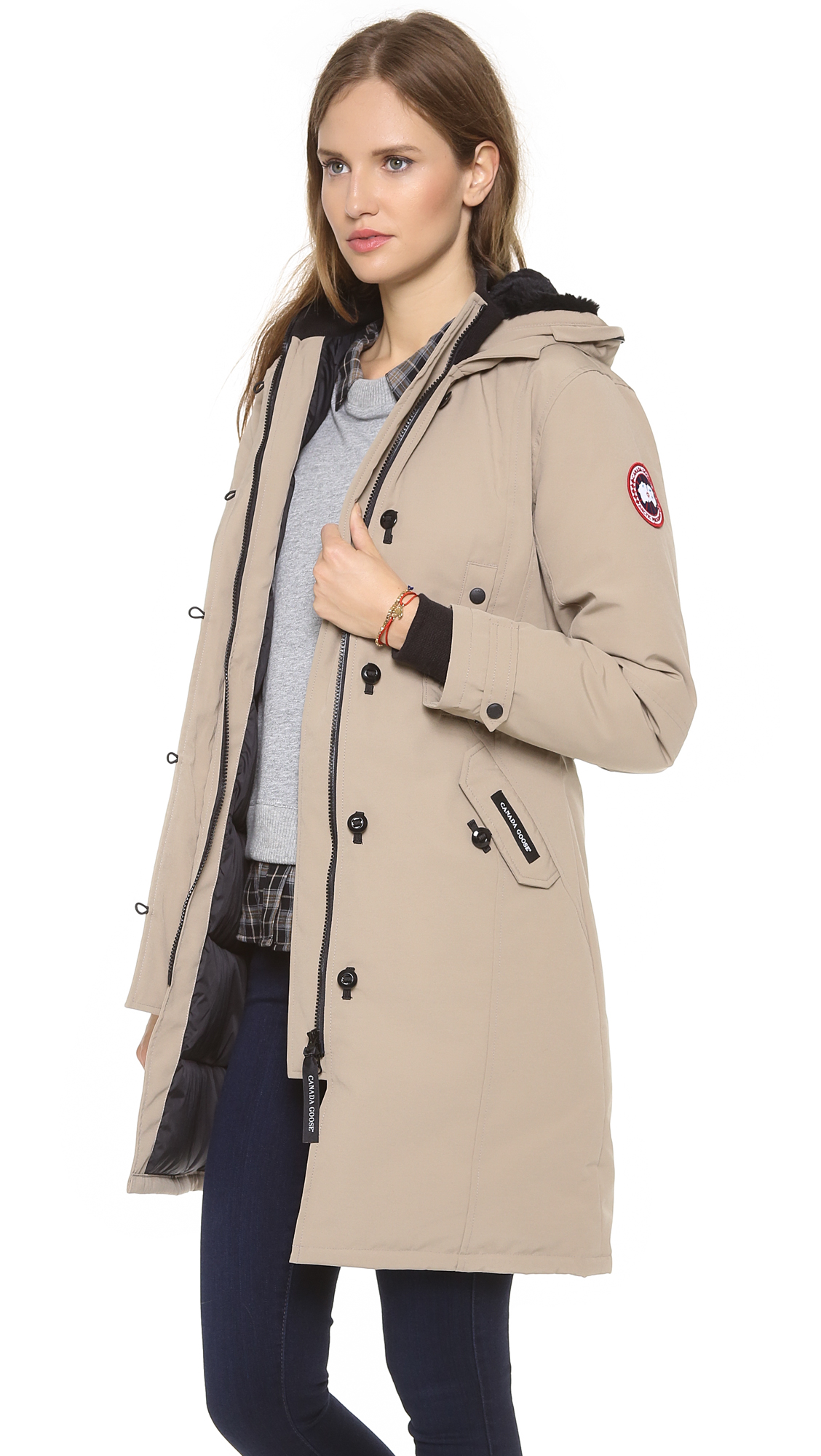 Aninimal Book: Lyst - Canada Goose Kensington Parka in Brown