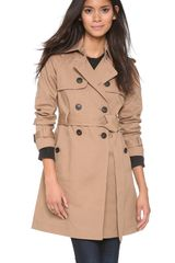Club Monaco Emma Trench Coat - Lyst