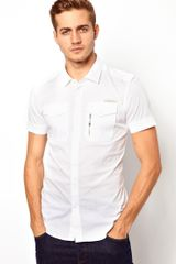 Humor Diesel Shirt Short Sleeve Military Stombol - Lyst