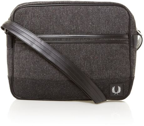 Fred Perry Wool Shoulder Bag 18