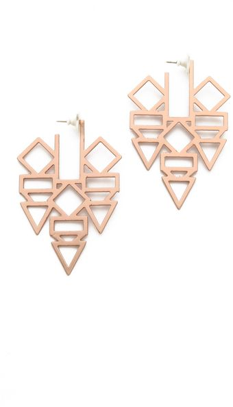 Gemma Redux Shape Earrings - Lyst