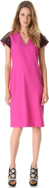 Giulietta Breakfast Jewel Sleeve Dress - Lyst