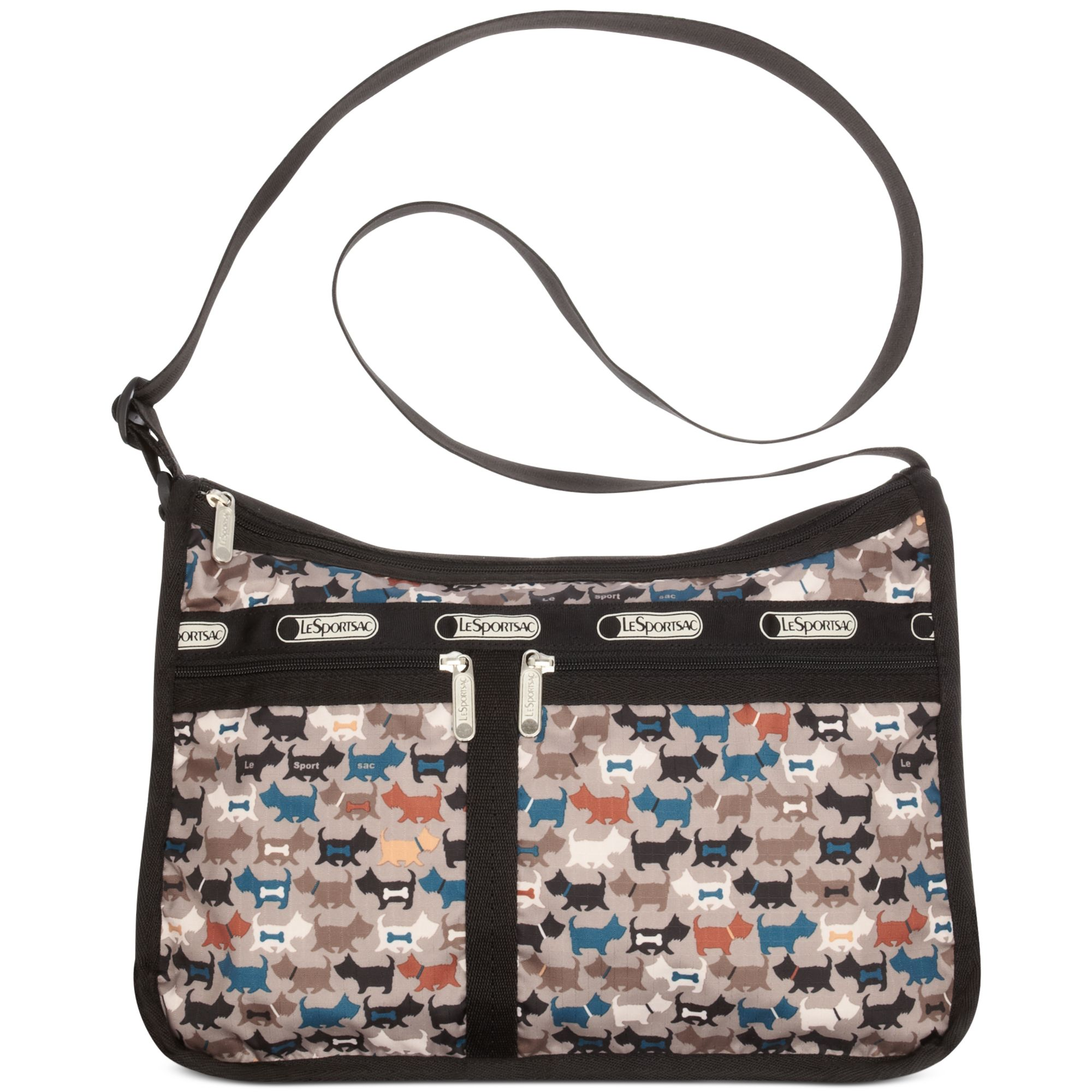 Lesportsac Deluxe Everyday Bag In Multicolor Mcscotty Lyst