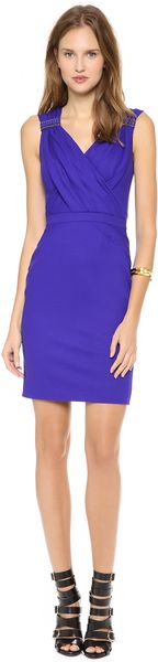 Matthew Williamson Cross Front Shift Dress - Lyst