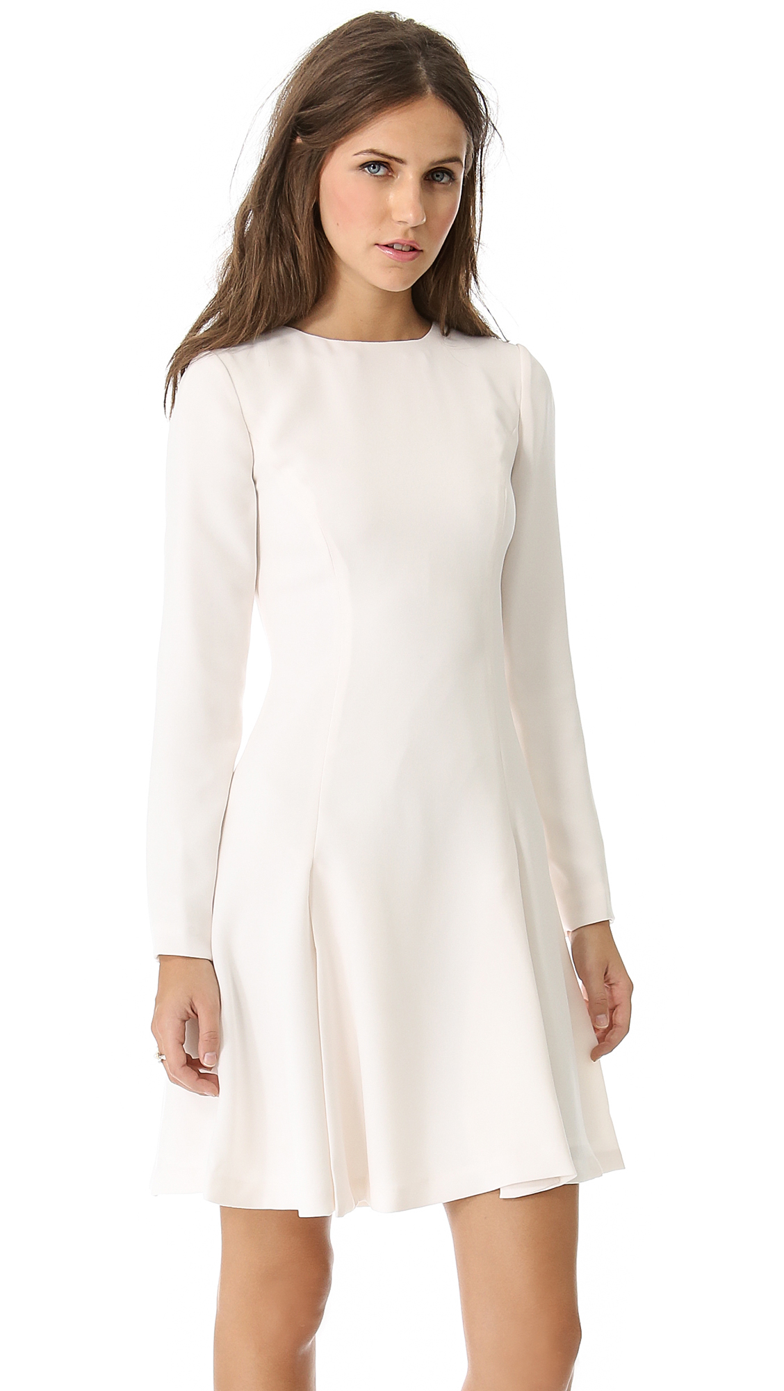 Opening Ceremony Zodiac Swing Dress In White Off White