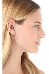 Pamela Love Five Spike Stud Earrings - Lyst