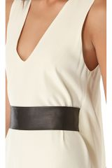 Ramy Brook Aubrey Dress with Leather Belt - Lyst
