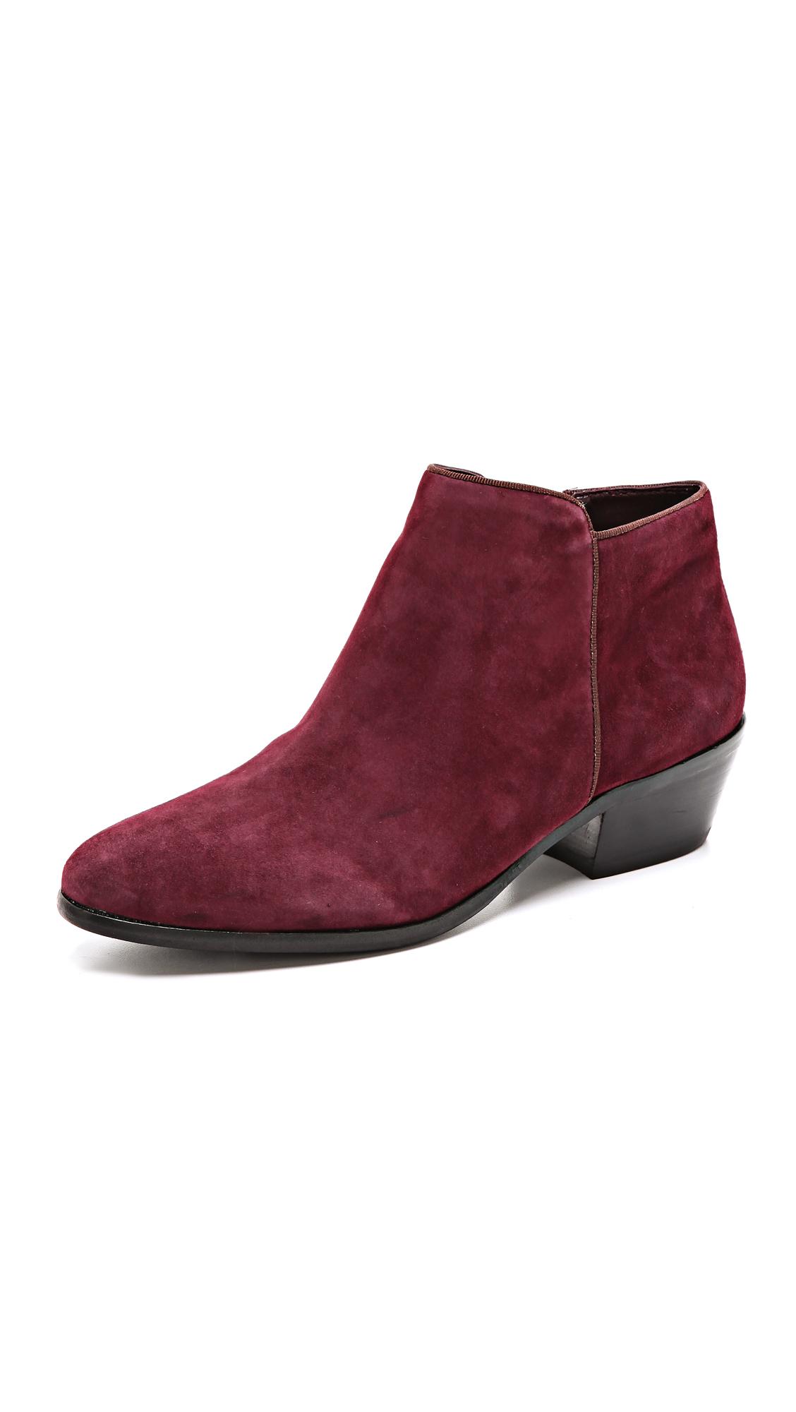 74ea7b8941776e Sam Edelman Petty Short Boots in Purple - Lyst