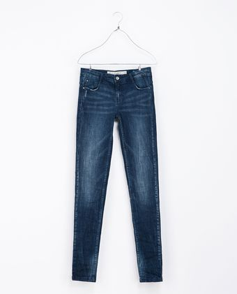 Zara Five Pocket Jeans - Lyst