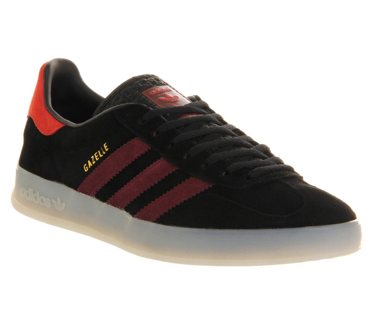 adidas Gazelle Indoor in Black for Men - Lyst f780ea1ec
