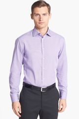 Armani Modern Fit Dress Shirt - Lyst
