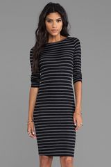 BCBGMAXAZRIA Briza Dress in Black - Lyst