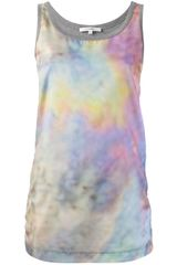 Carven Printed Vest Top - Lyst