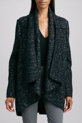 Donna Karan New York Marled Knit Cozy - Lyst