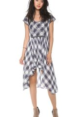 Free People Rad For Plaid Dress - Lyst