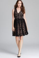 French Connection Dress Daisy Chain Lace - Lyst