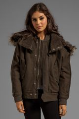 G-star Raw Army Flight Bomber Jacket in Olive - Lyst