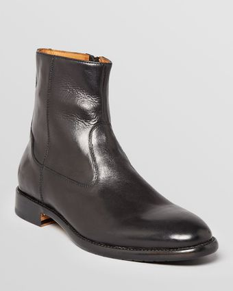 Gordon Rush Stanton Side Zip Leather Boots - Lyst