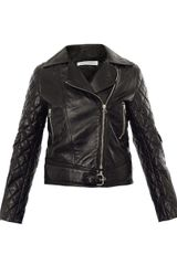 J.W. Anderson Quilted Leather Biker Jacket - Lyst