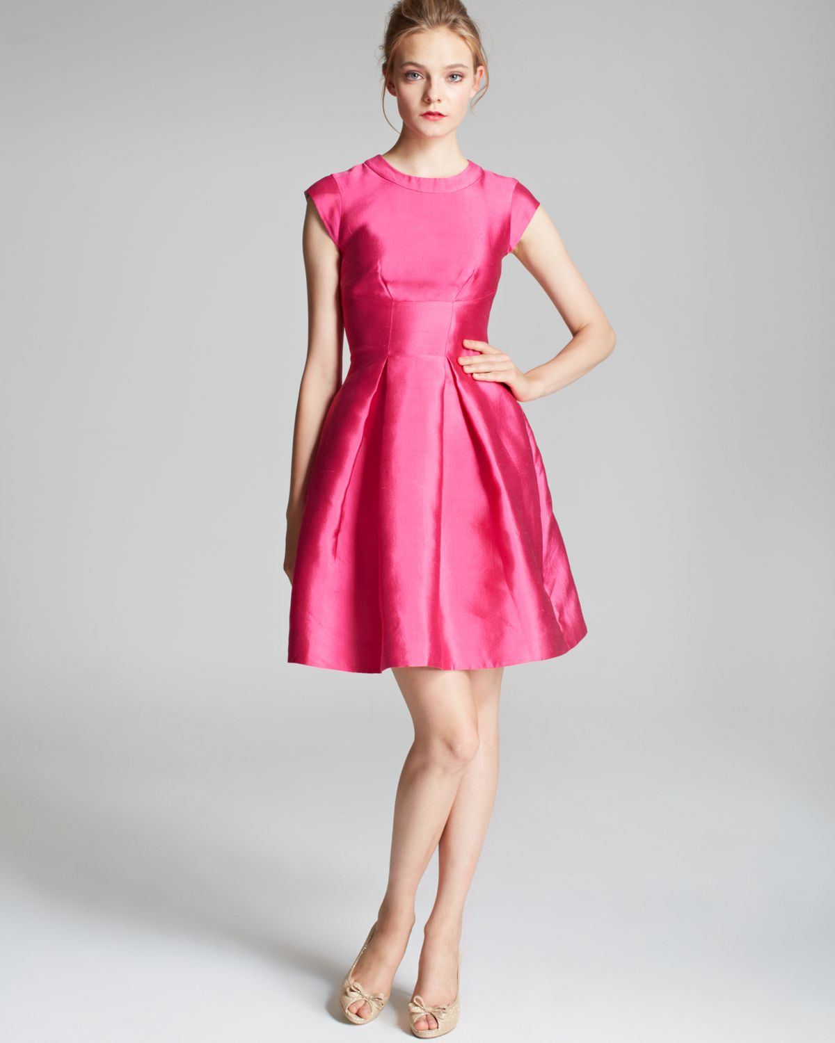 Kate Spade Vail Dress In Pink Lyst