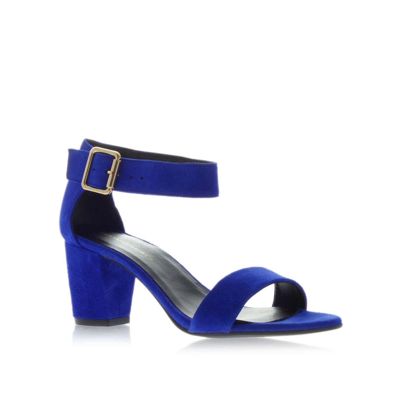 Blue Gladiator Shoes