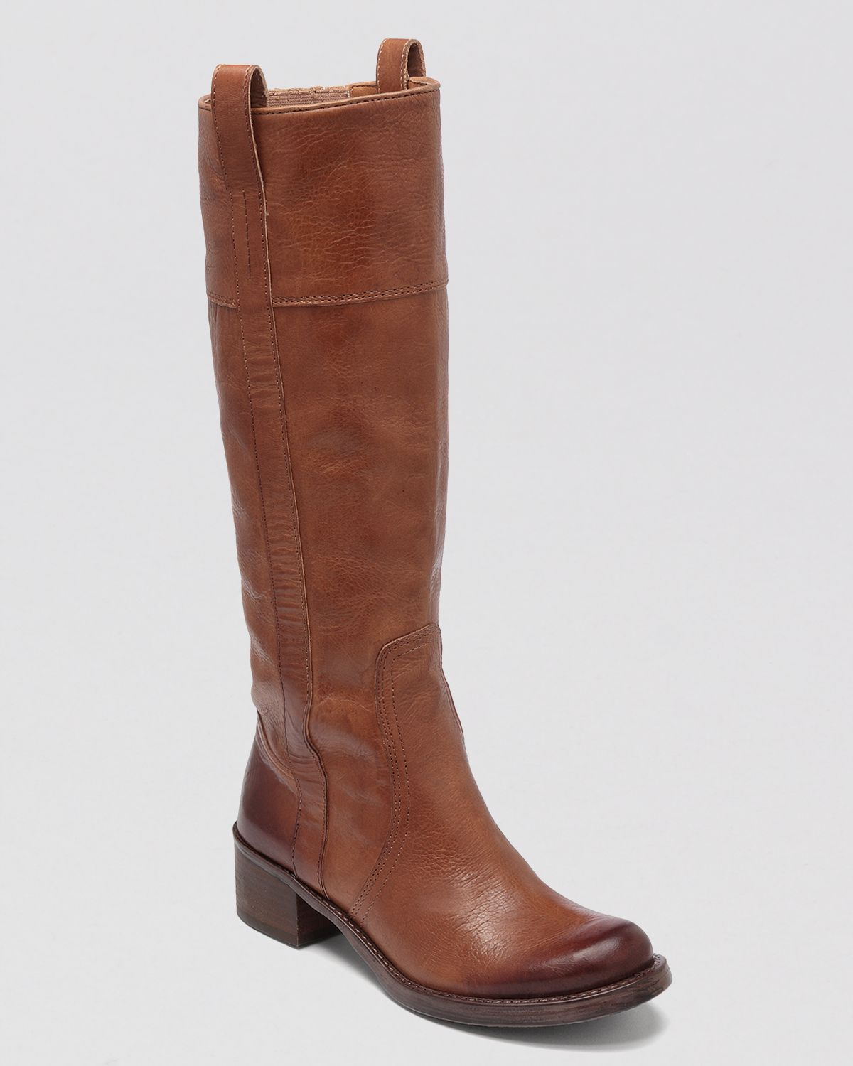 Lucky Brand Tall Boots Hibiscus In Brown Lyst