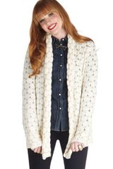 ModCloth Fresh Baked Blondies Cardigan - Lyst