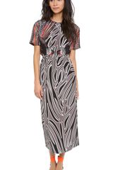 Mother Of Pearl Irvette Gathered Waist Dress - Lyst