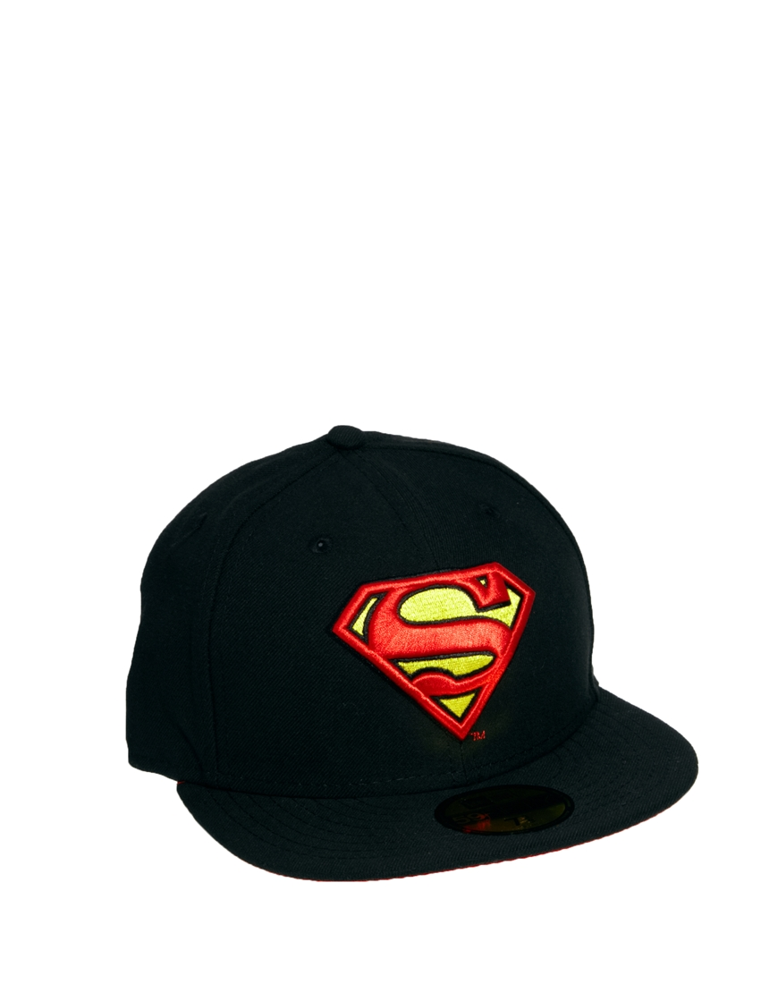 afdca5f0dc637 KR3W New Era 59fifty Superman Cap in Black for Men - Lyst