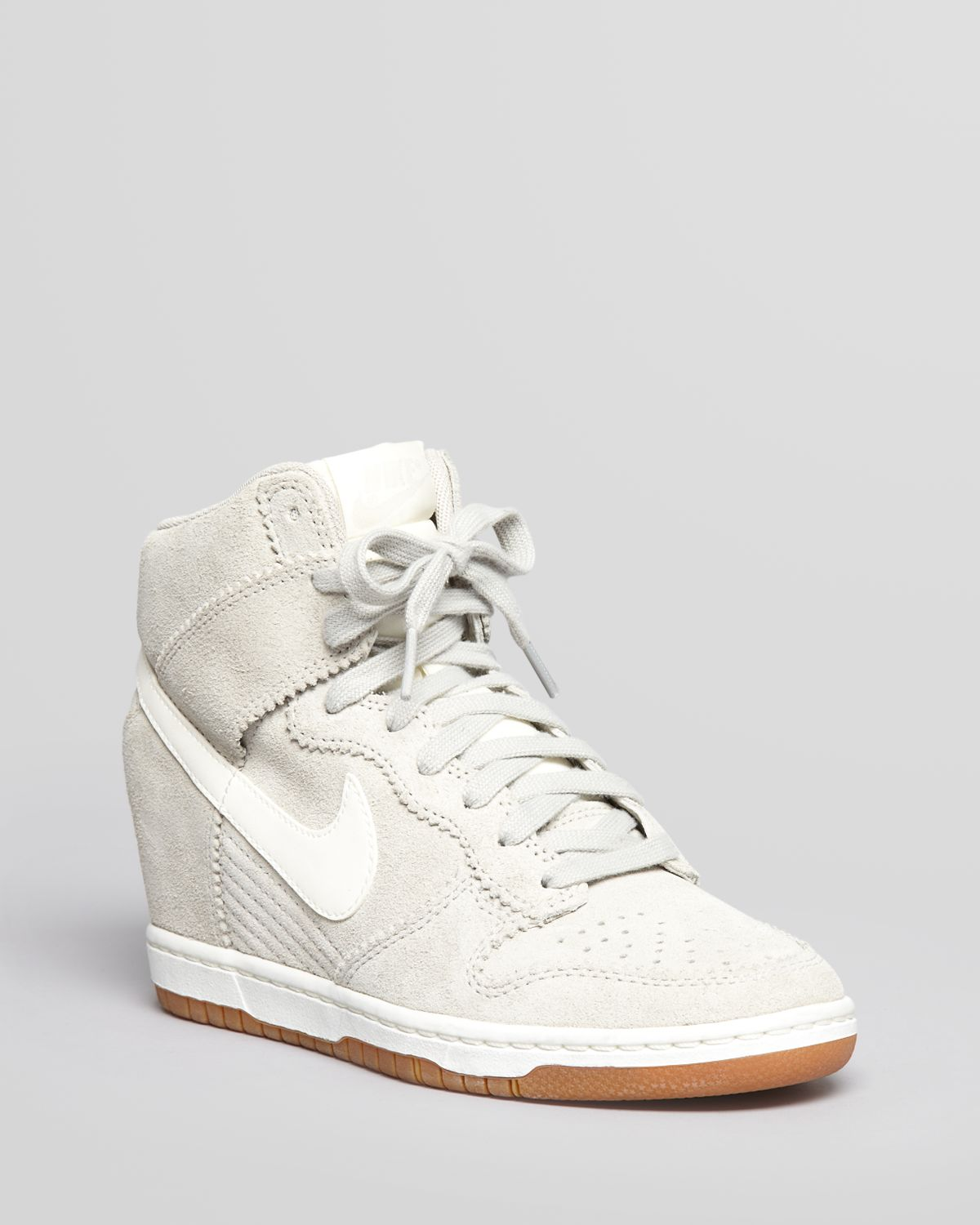 Lyst - Nike High Top Wedge Sneakers Dunk Sky Hi in White