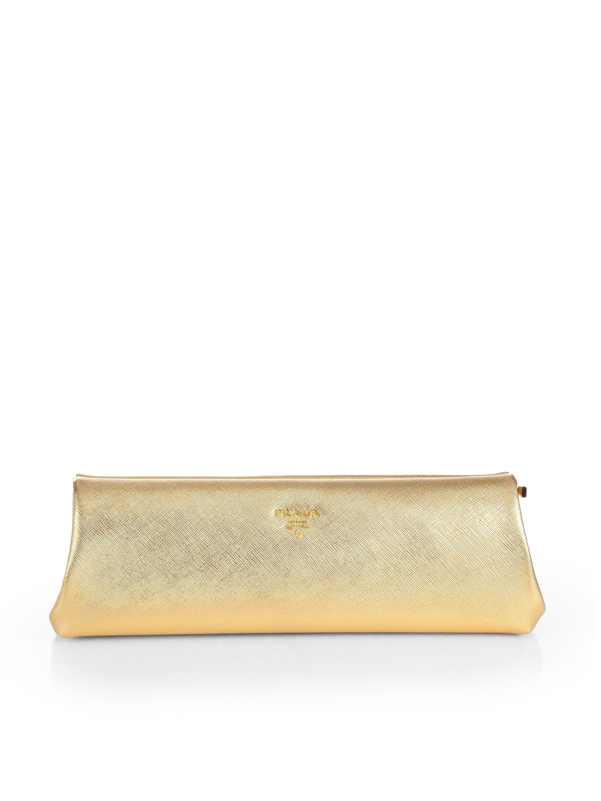 prada saffiano evening bag