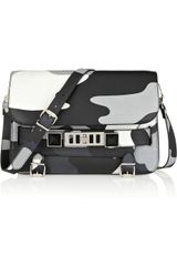 Proenza Schouler The Ps11 Classic Camouflage-print Leather Shoulder Bag - Lyst