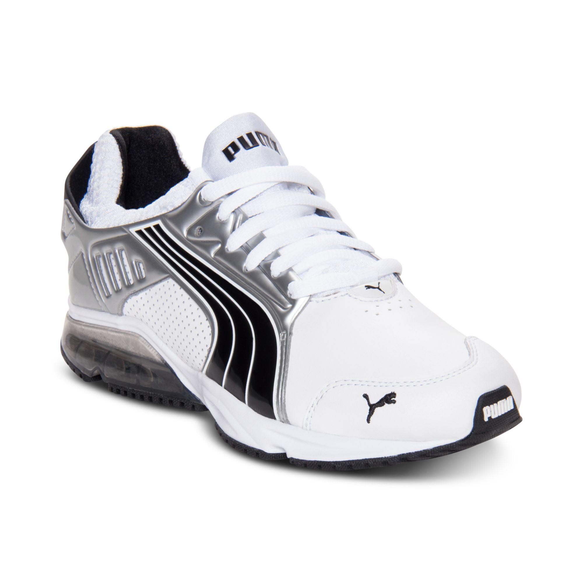 Old School Puma Running Shoes