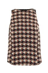 Rag & Bone Digital Houndstooth Silk Top - Lyst